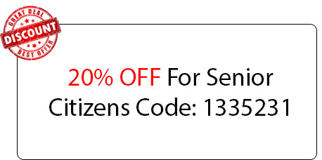 Senior Citizens 20% OFF - Locksmith at Waukegan, IL - Locksmith Waukegan Il